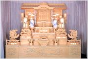 白木祭壇_仏教01