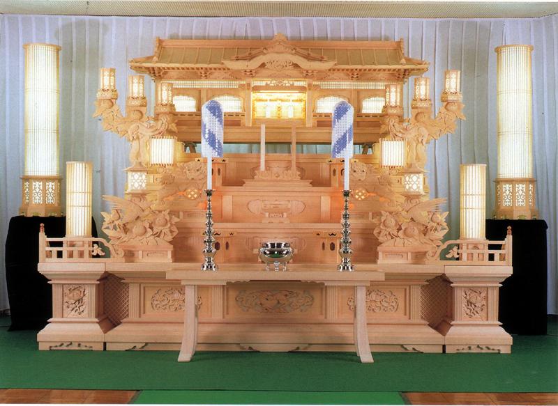 白木祭壇_仏教02