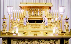 白木祭壇 - 仏式 -