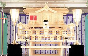 白木祭壇 - 神式 -